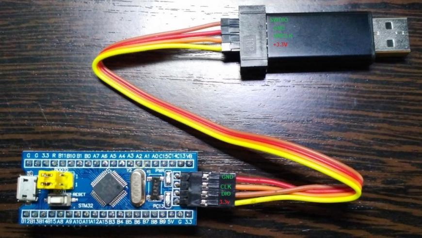 ST-LINK v2 stlink  STM32F103C8T6 STM32 st-link Development Board