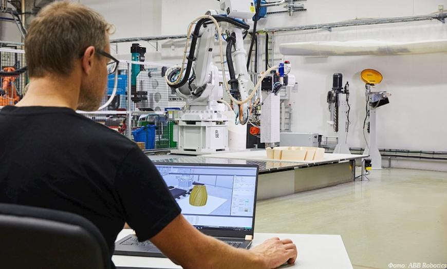ABB Robotics предлагает слайсер для 3D-принтеров на основе многоосевых роботов