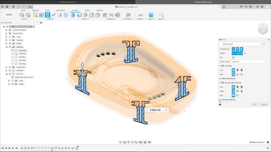 Autodesk демонстрирует новые возможности Fusion 360 на конференции Autodesk University 2021