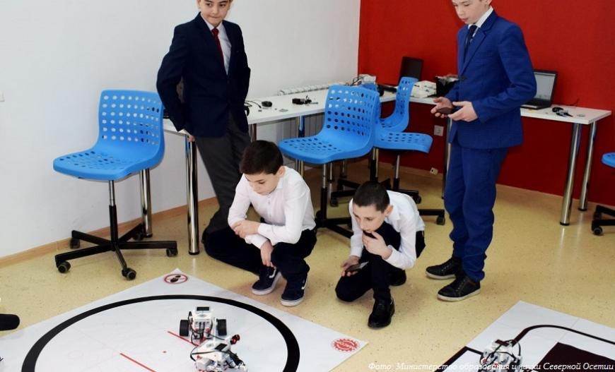 В 42 сельских школах Северной Осетии появятся центры «Точка роста»