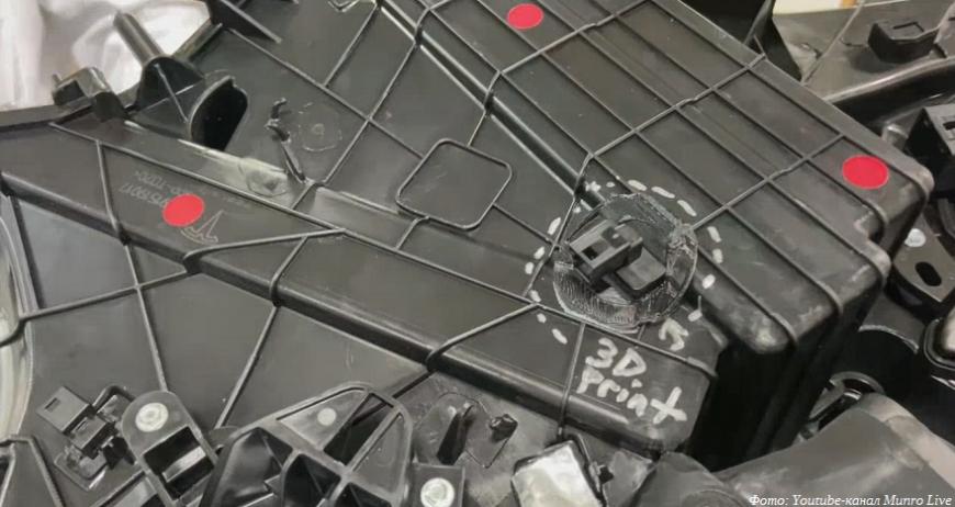 В новом кроссовере от Tesla обнаружился 3D-печатный «костыль»