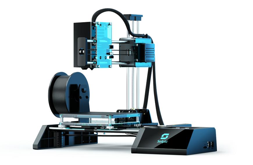 Так выглядит Бюджетный 3D-принтер Selpic Star A