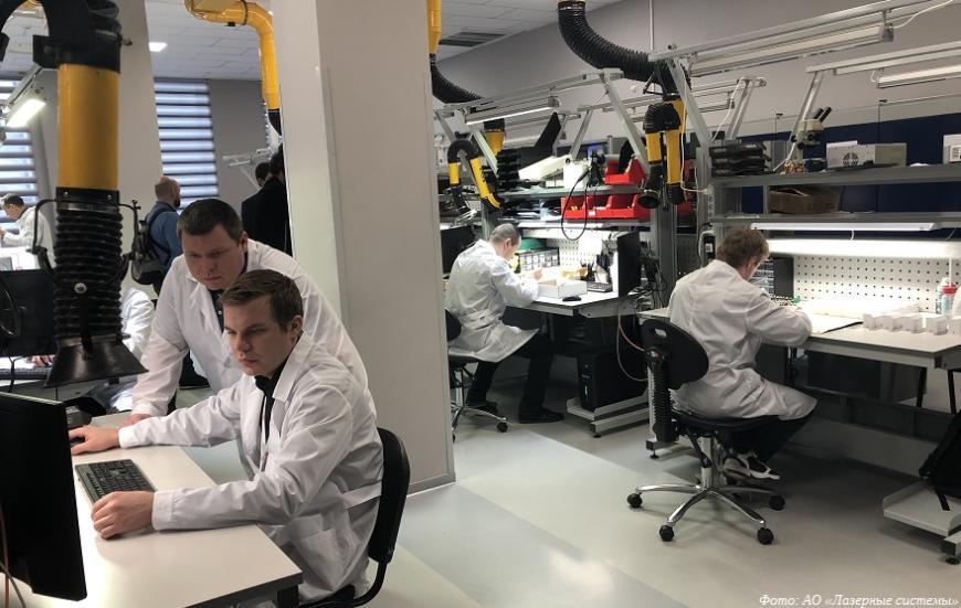 Компанию «Лазерные системы» отметили национальной премией за успехи в импортозамещении