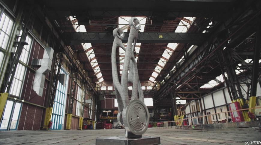 RoboRepRap: нидерландский промышленный робот напечатал себе новую руку