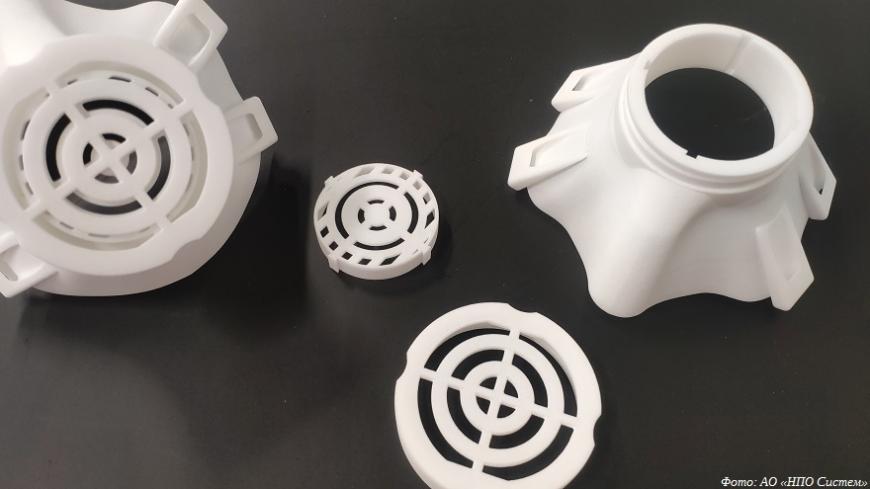 В ОЭЗ «Технополис Москва» приступили к 3D-печати комплектующих медицинского оборудования