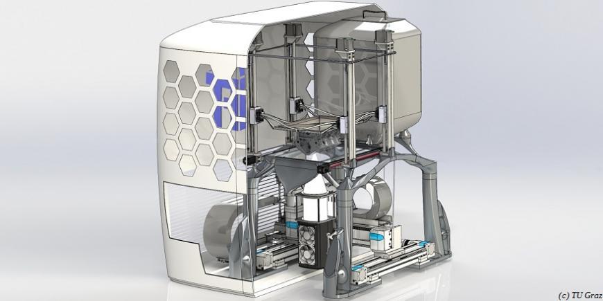 Австрийские ученые разрабатывают технологию светодиодной 3D-печати металлами