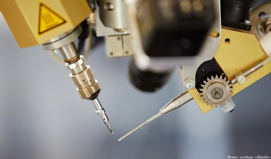 Предприятия холдинга «Швабе» внедряют роботизированное производство и аддитивные технологии