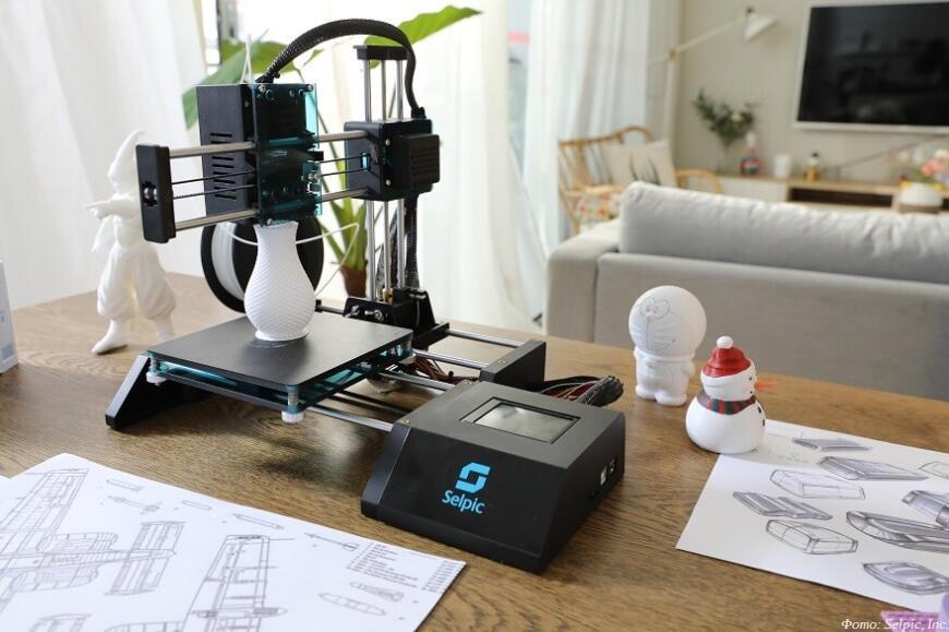 Selpic Star A: бюджетный 3D-принтер всего за $99