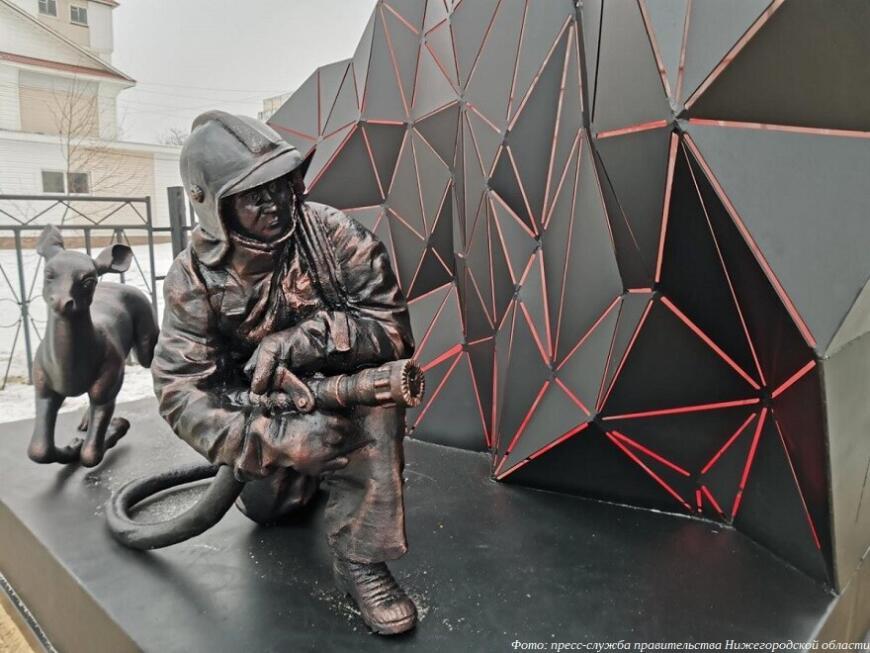 3D-печатный памятник героям-огнеборцам в России