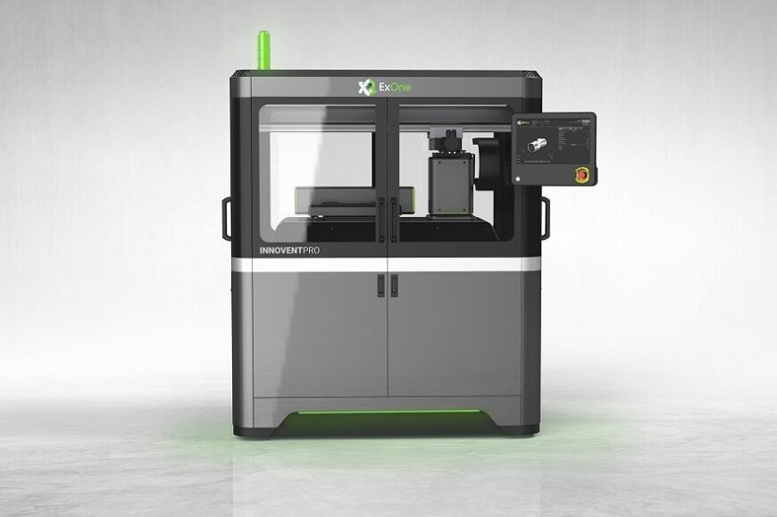 ExOne анонсировала струйно-порошковый 3D-принтер InnoventPro
