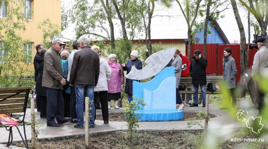 В Нарьян-Маре установили 3D-печатный арт-объект «Рыба»