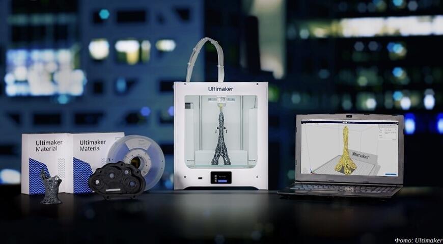 Ultimaker выпустил FDM 3D-принтер Ultimaker 2+ Connect