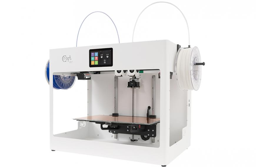 CraftUnique предлагает 3D-принтеры по технологии IDEX