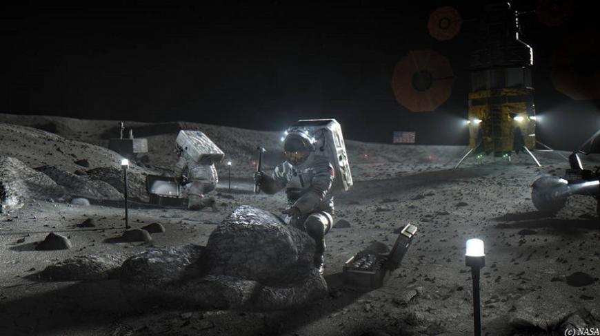 Новые американские лунные корабли создадут с применением технологий 3D-печати