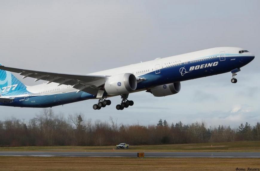 Boeing испытывает новый авиалайнер с 3D-печатными компонентами двигателей