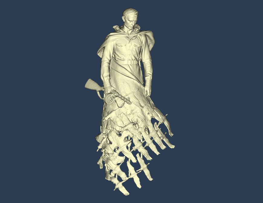 3D-технологии в создании Ржевского мемориала Советскому Солдату