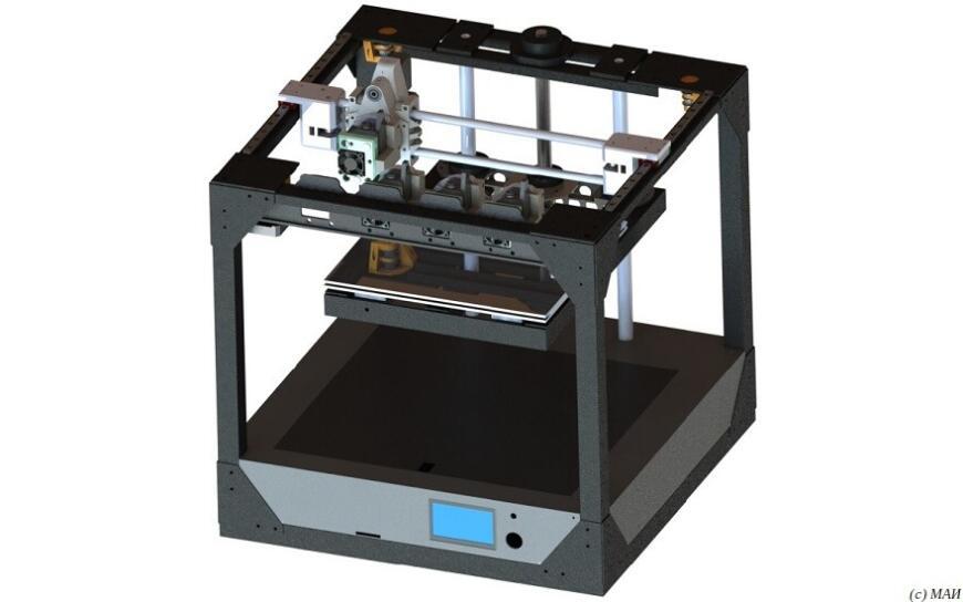 МАИ готовит публичную демонстрацию 3D-принтера с системой автоматической смены головок