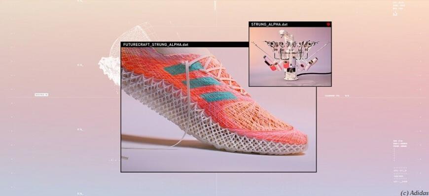 Аддитивный прыг-скок: Adidas готовит кроссовки Futureсraft.Strung