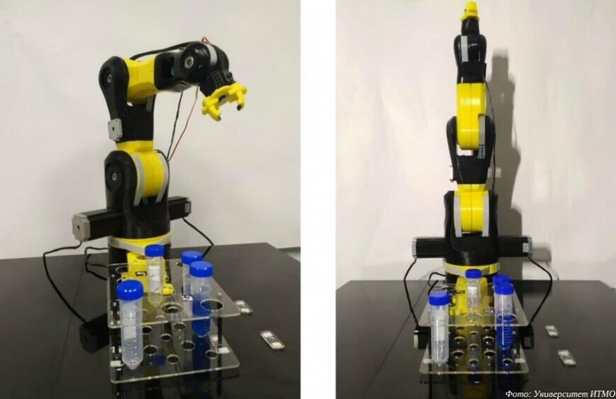 Ученые ИТМО создают 3D-печатных роботов-химиков