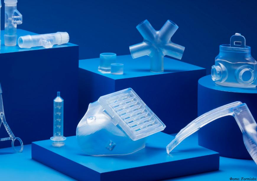Formlabs предлагает шесть новых смол для фотополимерных 3D-принтеров