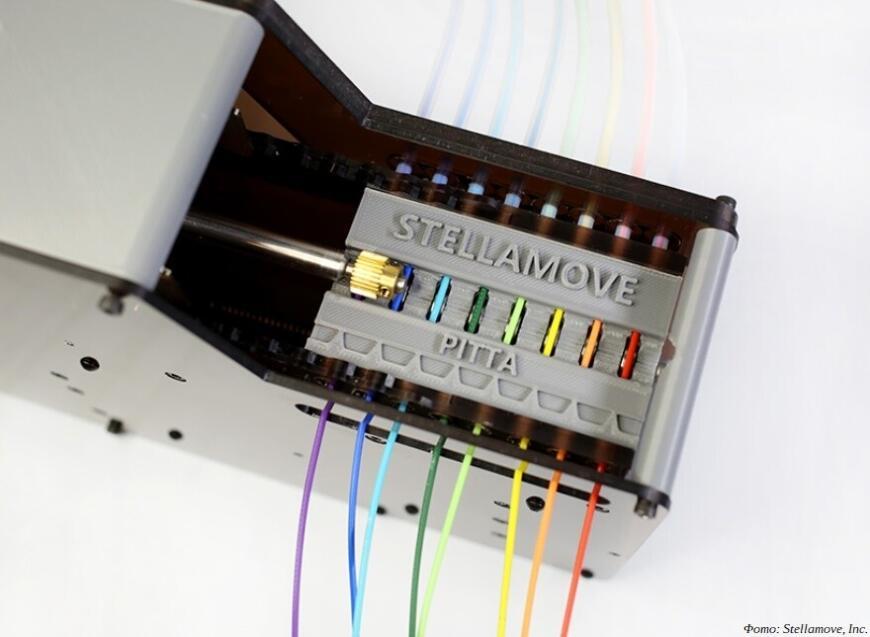 Stellamove предлагает устройства PITTA для 3D-печати несколькими филаментами