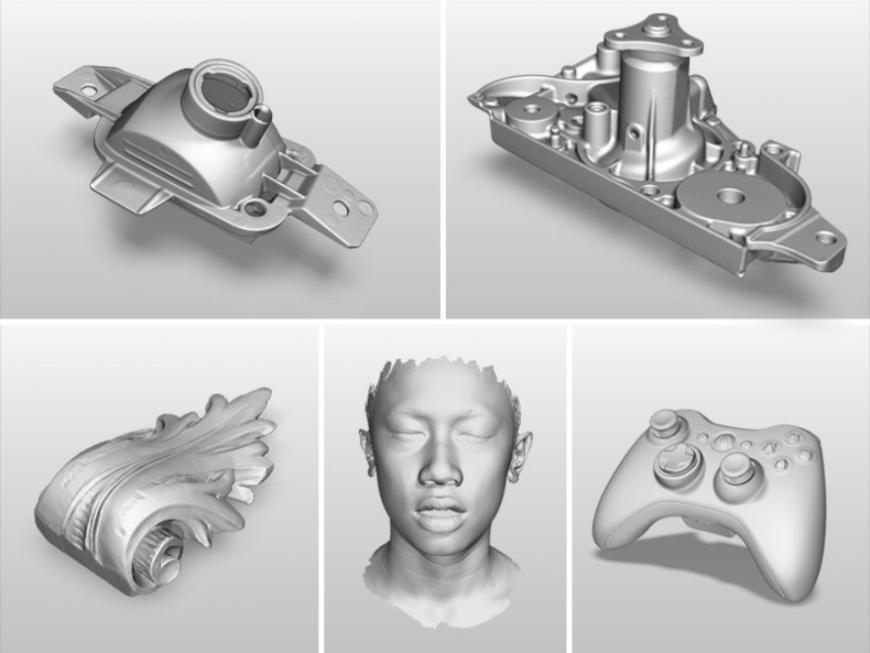 Polyga предлагает профессиональный ручной 3D-сканер H3
