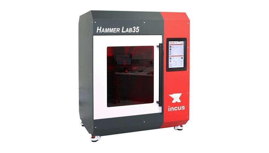 Incus Hammer Lab35: стереолитографическая система для 3D-печати металлами