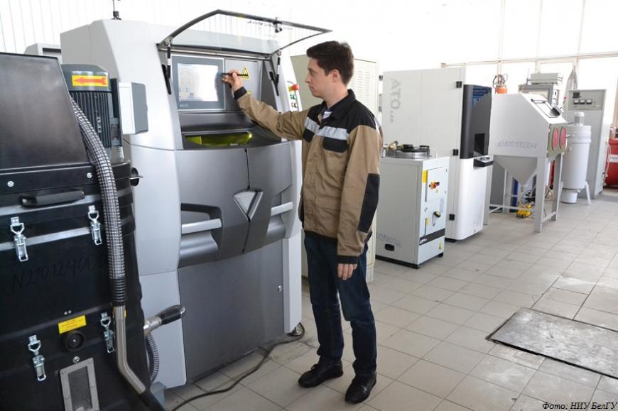 Ученые НИУ БелГУ разрабатывают жаропрочные сплавы и методику 3D-печати деталей газотурбинных двигателей