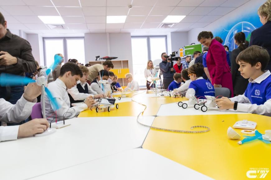 В Саратове открылся детский технопарк «Кванториум»