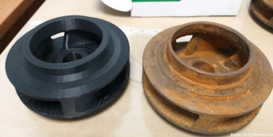 Газоперерабатывающий завод СибурТюменьГаза локализует производство деталей с помощью 3D-печати