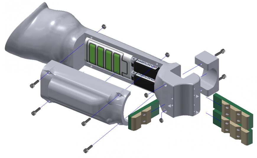 Британские инженеры сконструировали 3D-печатный бионический протез для малышей