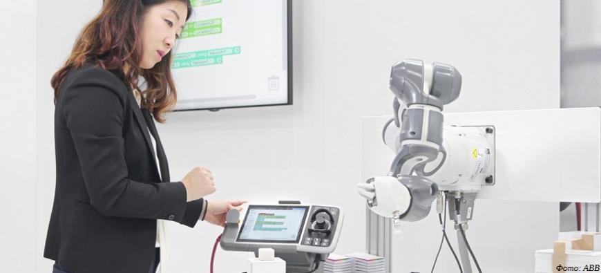 ABB делает программирование роботов проще с помощью Wizard Easy Programming