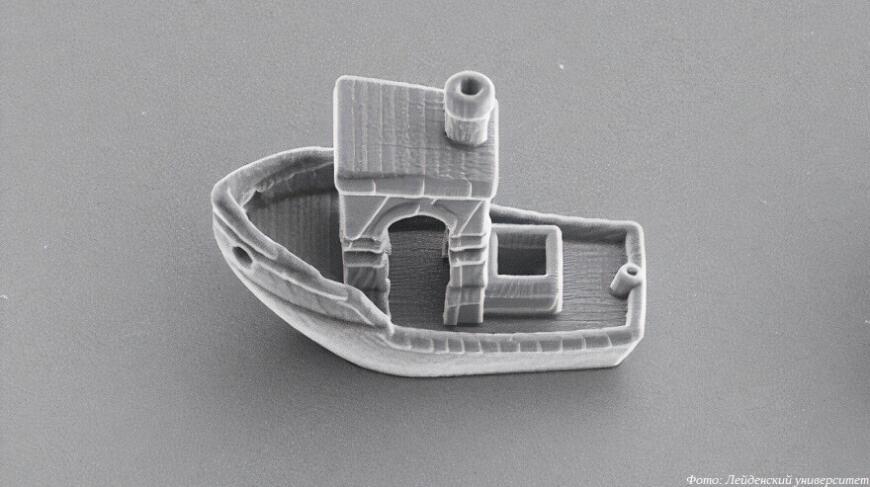 Нидерландские ученые напечатали самый маленький Бенчи в мире