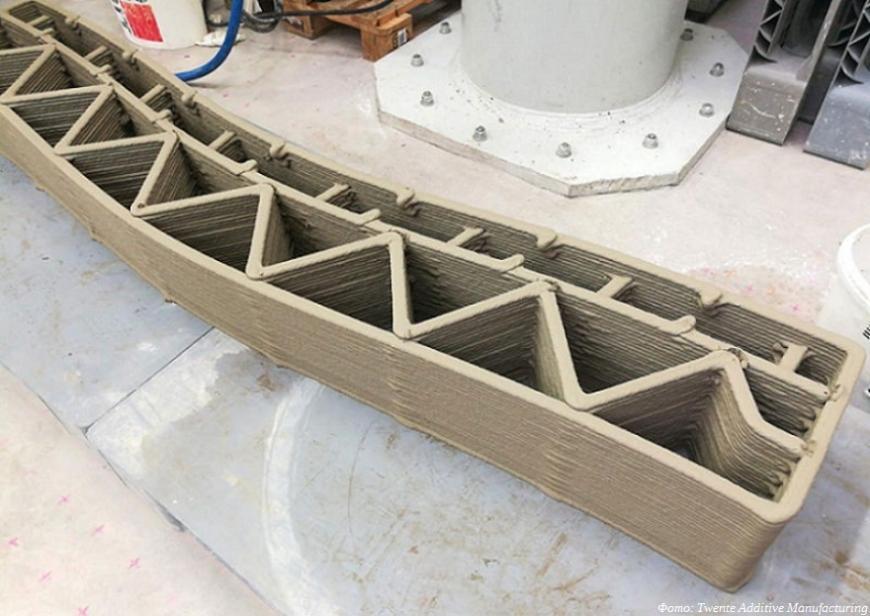 TAM вводит в эксплуатацию девятиосевой строительный 3D-принтер