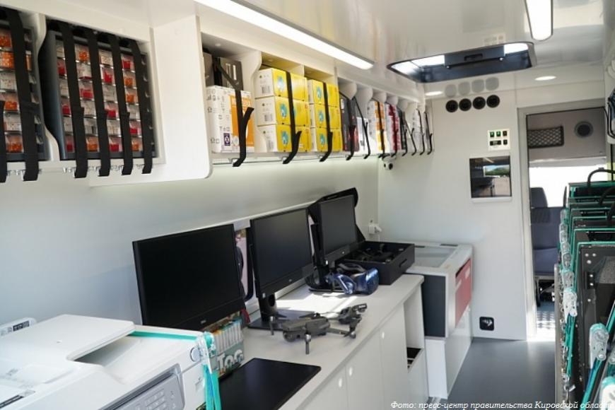 В Кировской области заработает мобильный технопарк «Кванториум»
