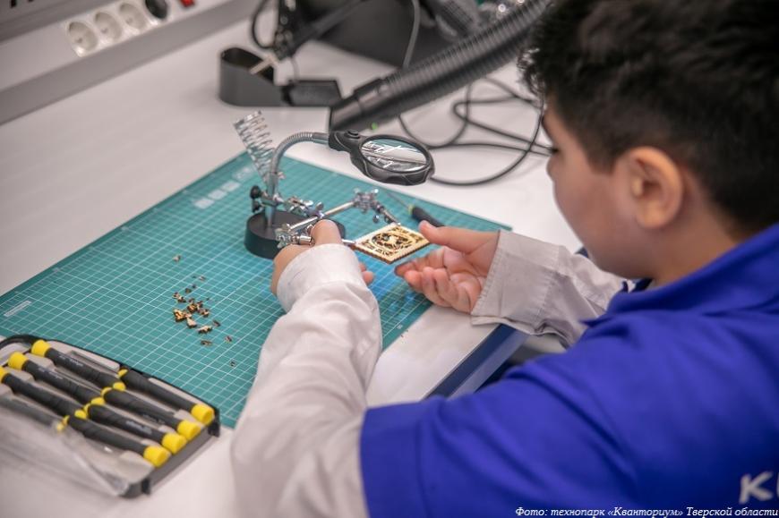 В Тверской области открываются детские центры прототипирования и программирования