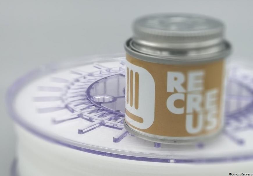 Recreus предлагает полипропиленовый филамент со специальным средством для повышения адгезии