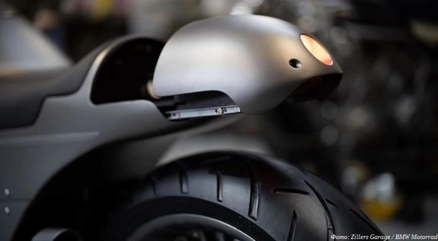Самодельный мотоцикл BMW от Zillers Garage