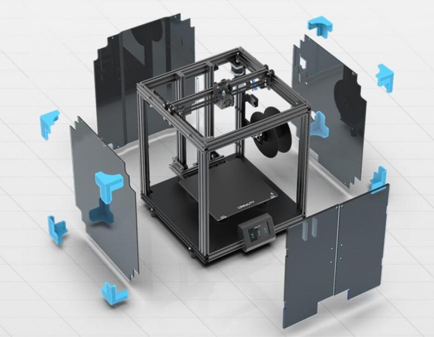 Creality предлагает FFF 3D-принтер Ender-6
