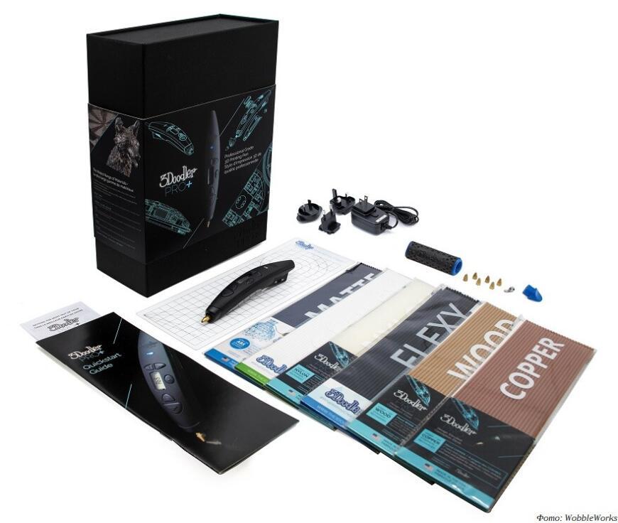 3D-ручка 3Doodler Pro+: стильно и дорого