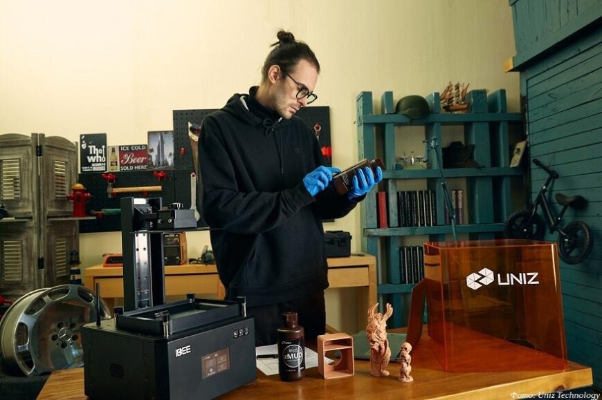 Uniz Technology предлагает настольные MSLA 3D-принтеры IBEE