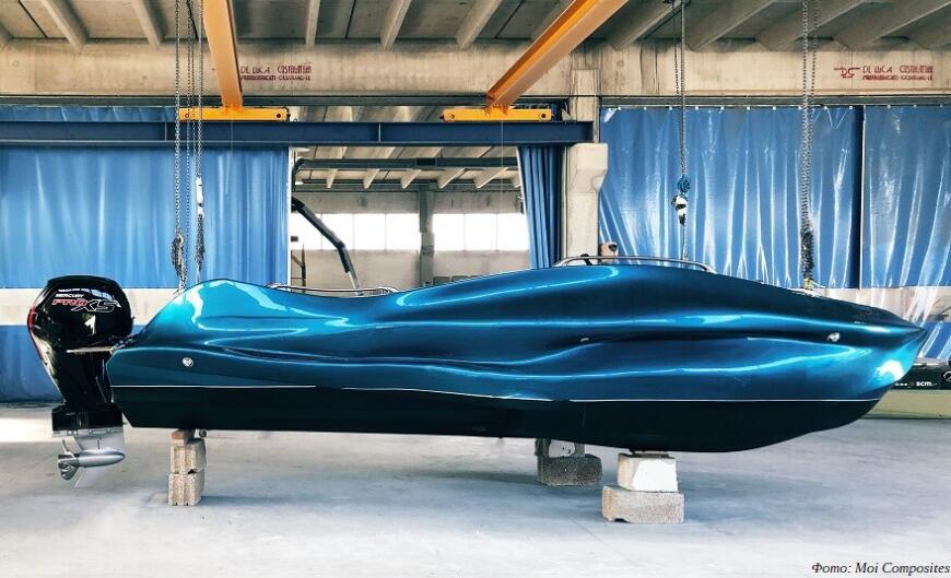 Moi Composites продемонстрирует 3D-печатный катер MAMBO