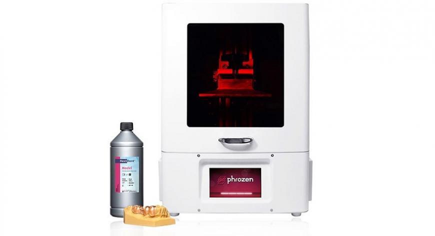 Phrozen предлагает крупноформатный фотополимерный 3D принтер Sonic XL