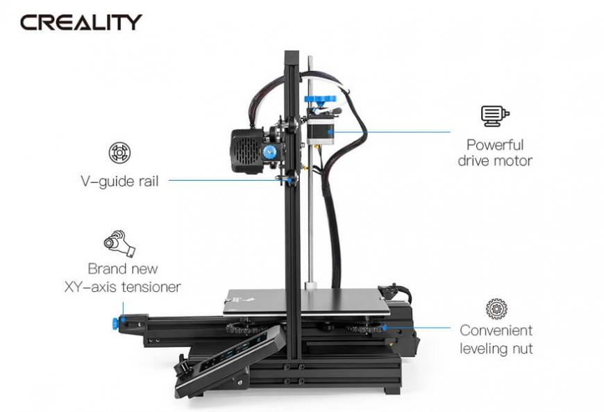 Creality 3D предлагает модернизированный бюджетный 3D-принтер Ender-3 V2