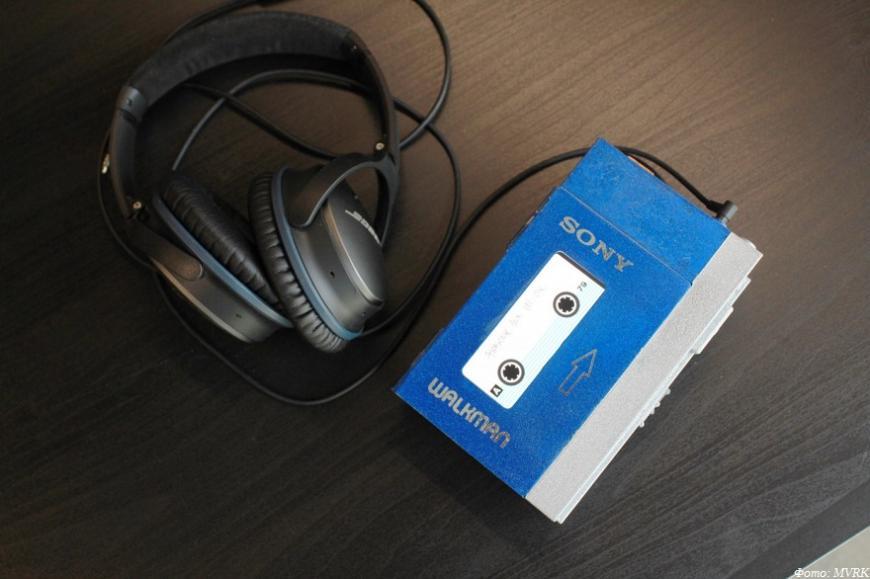 MVRK празднует 41-летие Sony Walkman 3D-печатной цифровой репликой легендарного плеера