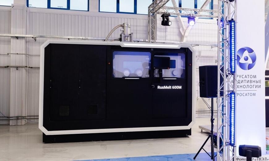 В НПО «Центротех» изготовлены машинокомплекты 3D-принтеров RusMelt-600