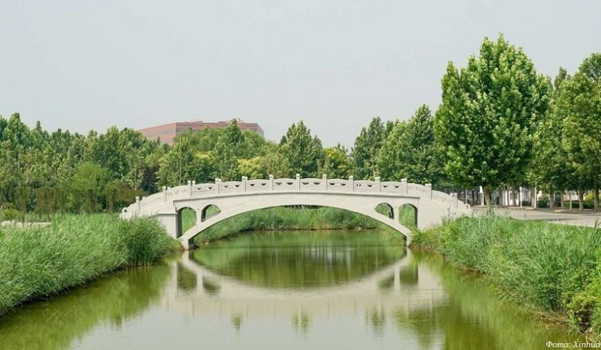 Китайский 3D-печатный мост попал в Книгу рекордов Гиннесса