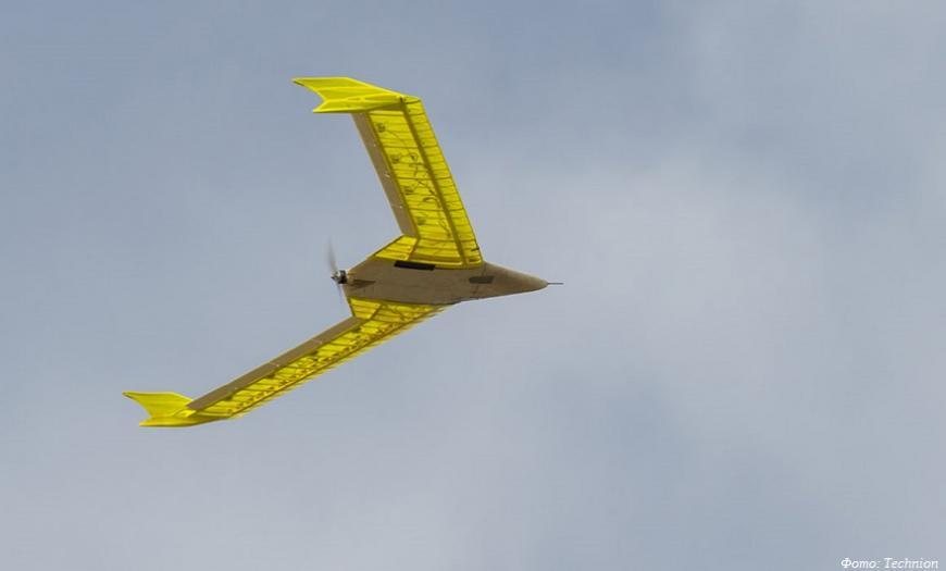 Израильские студенты построили 3D-печатный летающий беспилотник с активным аэроэластичным крылом