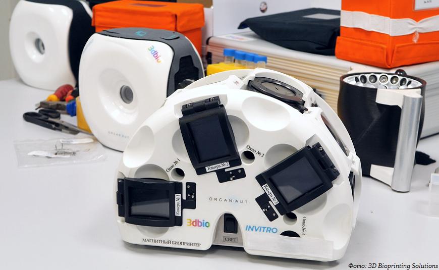 На борту МКС опробуют 3D-печать костных тканей