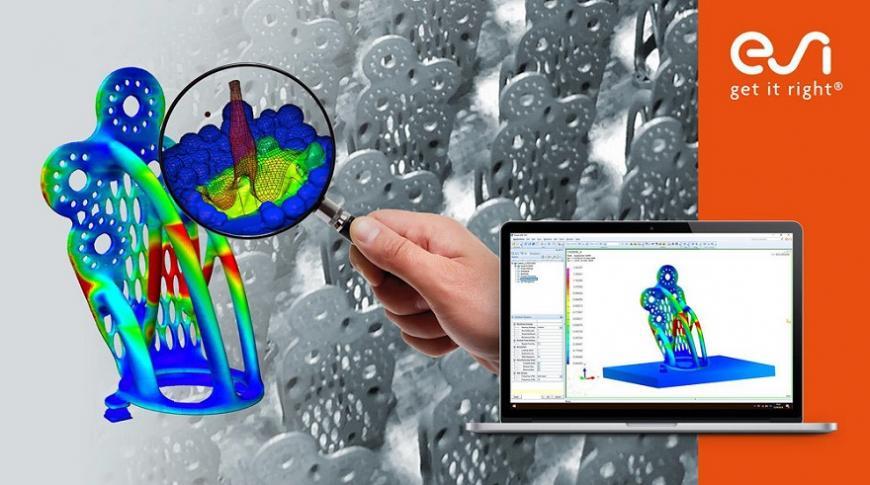 PLM Engineering приглашает на вебинар по компьютерному моделированию 3D-печати металлами